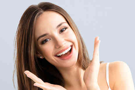 The Whitening Clinic - One hour teeth whitening treatment with a dental examination - Save 74%