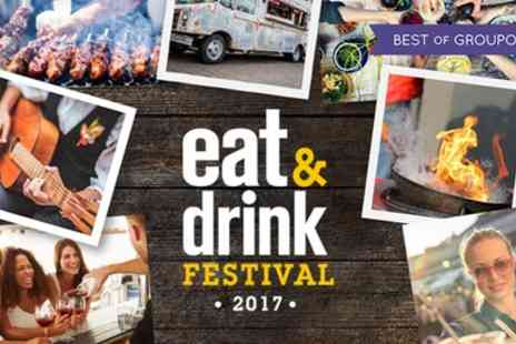 Eat And Drink Festival - Two Tickets to Eat and Drink Festival on 26 to 29 May - Save 48%