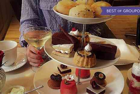 R Chocolate - Chocolate Afternoon Tea with Chocolate Infused Sparkling Wine for One or Two - Save 58%