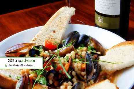 Sabatini - Pizza, pasta or risotto main and a house wine or beer each for two - Save 52%