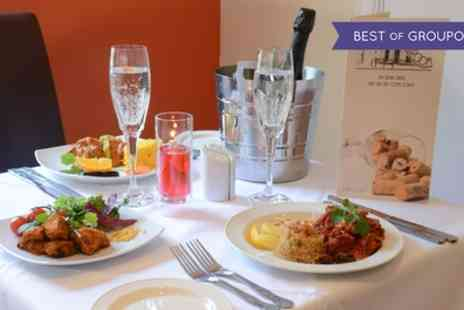 The Ballroom - Two Course Indian Meal with a Glass of Prosecco for Two or Four - Save 59%
