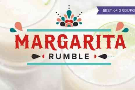 Margarita Rumble - One general admission or VIP ticket to Margarita Rumble on 30 April - Save 33%