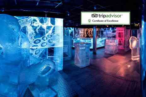 Icebar London - Bar entry and drink and a three course meal with Aperitif cocktail for one - Save 36%