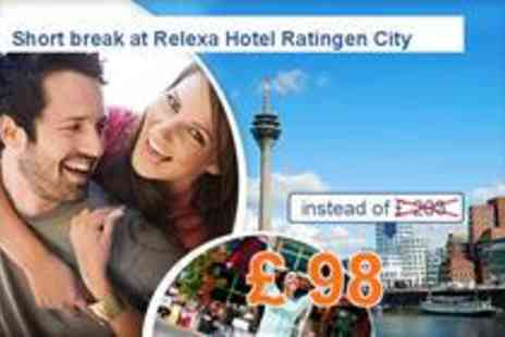 Relexa Hotel Airport - Experience Dusseldorf 3 days for two at the 4-star hotel - Save 52%
