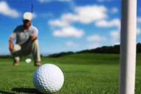 Kent & Surrey Golf Club - Round of golf for two including a bacon roll and a coffee - Save 67%