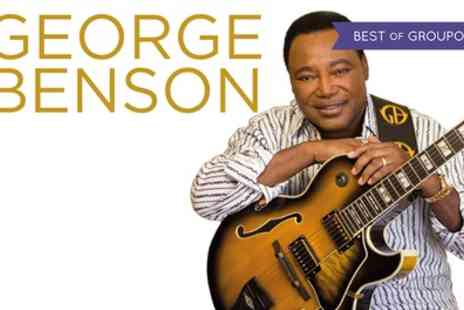 George benson - One adult ticket to see George Benson on 1 July - Save 57%