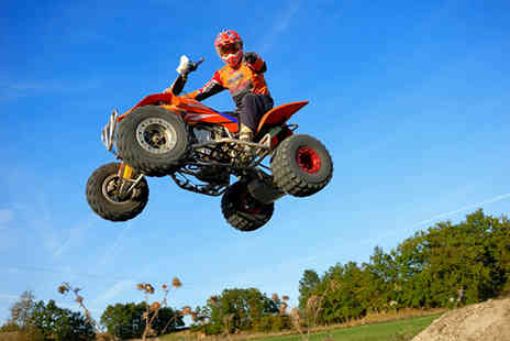 Segwayz - One hour quad bike safari for a child, adult or a family of four - Save 56%