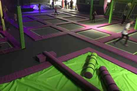 Imagination Street - One Hour Trampoline Park Access for Up to Four - Save 0%