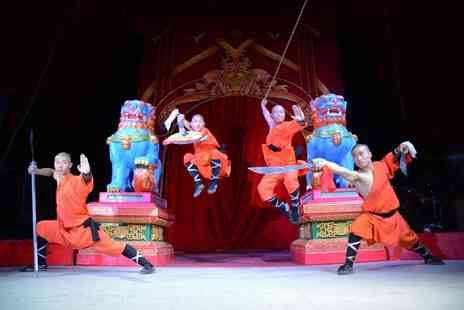 Chinese State Circus - Front circle ticket to Chinese State Circus - Save 55%