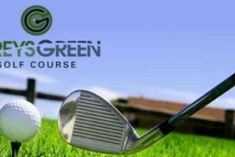 Greys Green Golf Course - Day of Golf For Two - Save 60%