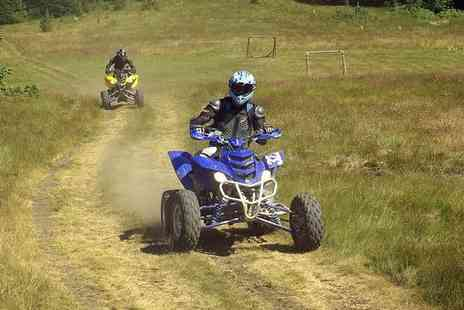 H.A. Quads - Five mile quad biking experience for one - Save 52%