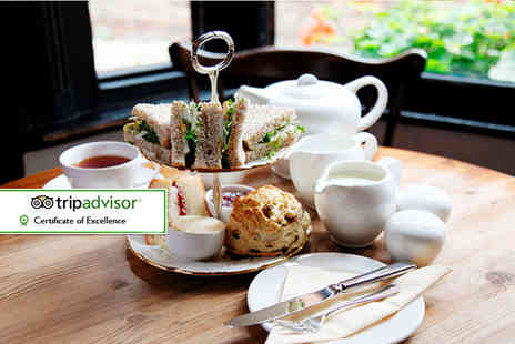 The Rustic Coffee Company - Afternoon tea for two people - Save 32%