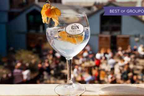 Gin Festival - Entry to the Gin Festival on 28 or 30 April - Save 52%