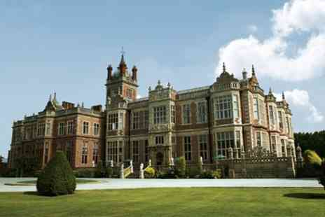 Crewe Hall - Afternoon Tea with Optional Prosecco for Two - Save 27%