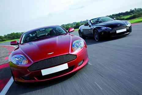Buyagift - A Lamborghini and Aston Martin double supercar driving blast experience - Save 0%