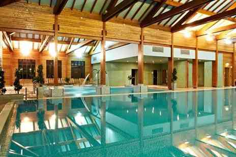 Bannatyne Spa - Spa day for two with two treatments each and an afternoon tea - Save 39%