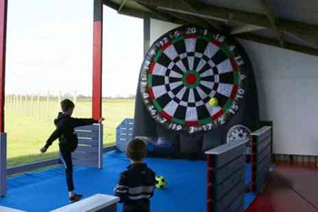 Eagles Golf Center - 30 Minutes of Kick Darts or Foot Pool - Save 50%