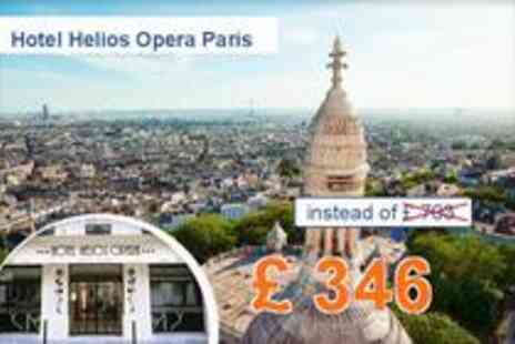 Hotel Helios Opera - Explore Paris in summer 4 days for 2 people - Save 51%