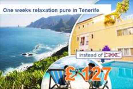 Hotel Astoria - Summer in Tenerife 1 week stay for 2 people - Save 37%