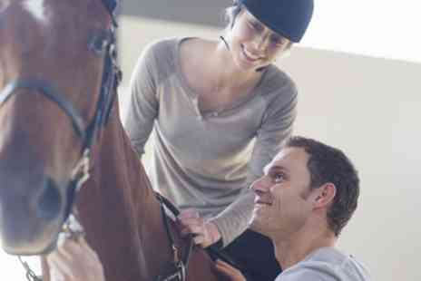 Braeside Equestrian Centre - 30 or 60 Minute Horse Riding Lesson for One or Two Kids or Adults - Save 15%