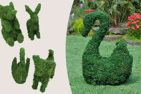 Internet Shop - Garden Animal Topiary Frames in 4 Designs - Save 70%