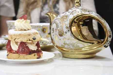 Creams British Luxury - Luxury cream tea for two - Save 64%