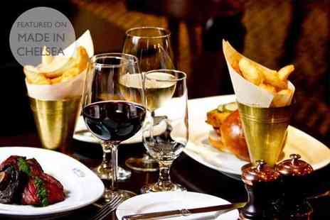Reform Social and Grill - Three course dinner with a bottle of wine for two - Save 52%
