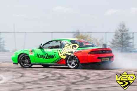 Learn2Drift - Four hour car drifting experience including three passenger laps - Save 70%