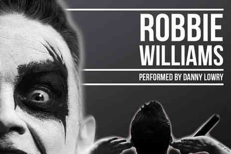 30 James Street - Two tickets to a Robbie Williams tribute night with a two course meal and glass of bubbly each on 5th May - Save 50%