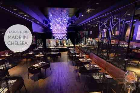 DSTRKT - Three course gourmet meal for two with Prosecco - Save 56%