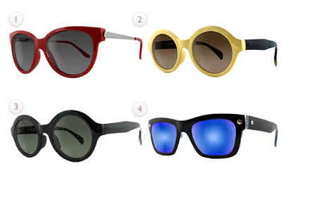 Break The Ice - Pair of Ruby Rocks sunglasses - Save 56%