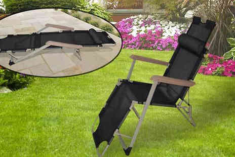 luxury bed and warehouse - Two in One Zero Gravity Chair & Lounger With Pillow - Save 70%