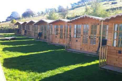 Abels Harp - One or Two Night Glamping for Two with Breakfast, Hot Tub Access and Option for Dinner - Save 0%