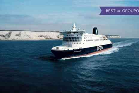 DFDS Ferry Crossings - One or Three Day Return Ferry Crossings to Calais or Dunkirk with Prosecco - Save 0%