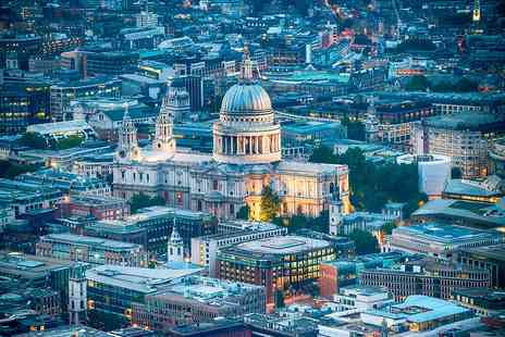 Ping Pong - Visit to St Pauls Cathedral with Lunch and Cocktail for Two - Save 0%