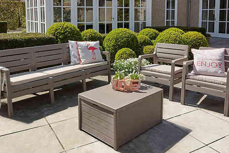 Out and Out Original - Delano Five Seater Garden Lounge Set - Save 40%