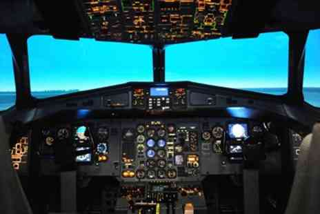Jet Sim School - Pilot Experience in a Boeing 737 Flight Simulator - Save 55%