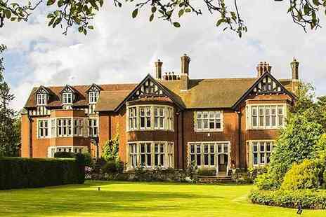 Scalford Hall Hotel - Overnight Leicestershire stay for two with breakfast, light bite meal and Totally Madness ska show and comedy - Save 48%