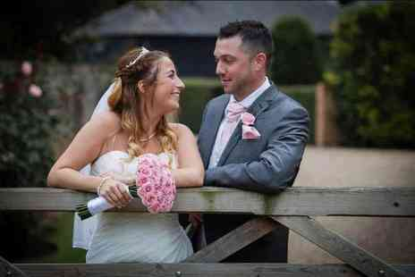 Digital Weddings - Eight hour wedding photography package with 300 images of your choice on disc - Save 50%