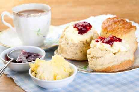 The Rustic Coffee - Homemade Cream Tea for Two - Save 29%