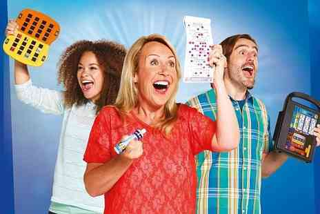 Gala Bingo - Up to 10 games of bingo for two including chips and a choice of one topping each - Save 75%