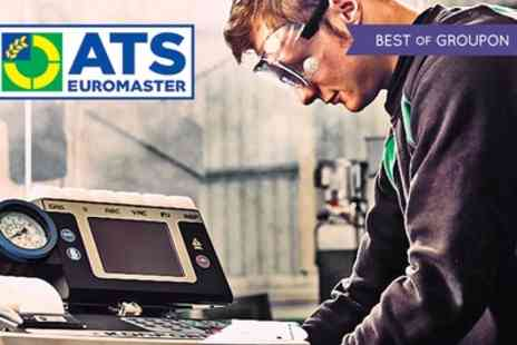 ATS Euromaster - Car Air Con Recharge with Optional Anti Bacterial Treatment - Save 40%