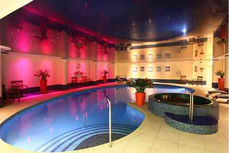 Heronston Hotel and Spa - Overnight Bridgend spa break for two including breakfast, dinner allowance, treatment and late check out - Save 36%