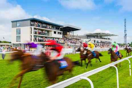 Bath Racecourse - Two tickets to the races featuring a Take That tribute act - Save 40%