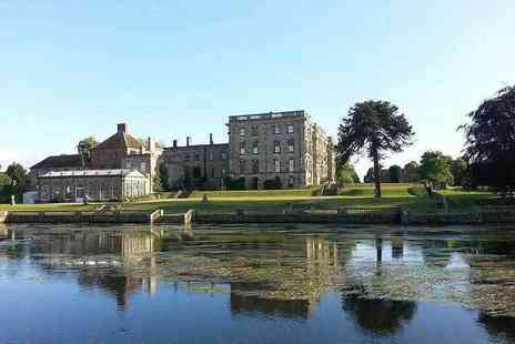 Stoneleigh Abbey - Afternoon tea for two including entry to the grounds include a glass of Prosecco each - Save 52%