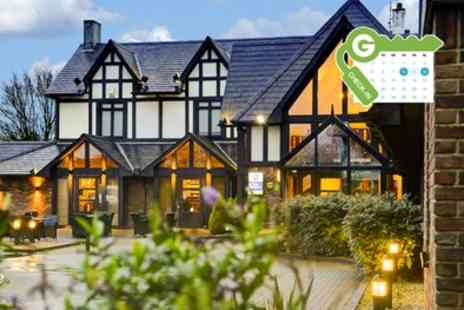 The Gables Hotel - Stay for Two with Meals and Option for Bristol Zoo Tickets - Save 17%