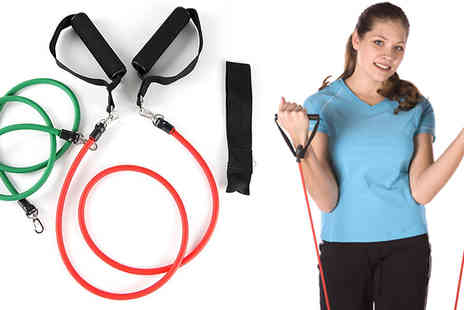 Shopperheads - Resistance Band Workout Kit - Save 74%