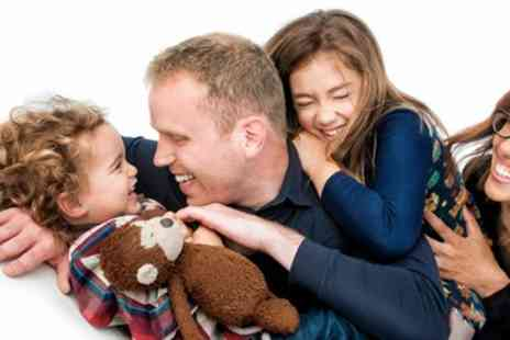 Venture Photography - Cheltenham Family Photoshoot with Framed Photo - Save 62%