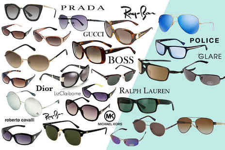 Brand Logic - Mystery sunglasses deal for him or her from Oakley, Ray Ban, MK, Glare, Gucci, Prada, Dior, Burberry and more - Save 0%