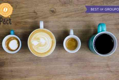 Pact Coffee - £15 to spend on Fresh Coffee Bags or Nespresso Compatible Pods with Free Delivery - Save 67%